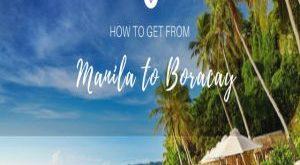 cách thức đi từ manila đến boracay