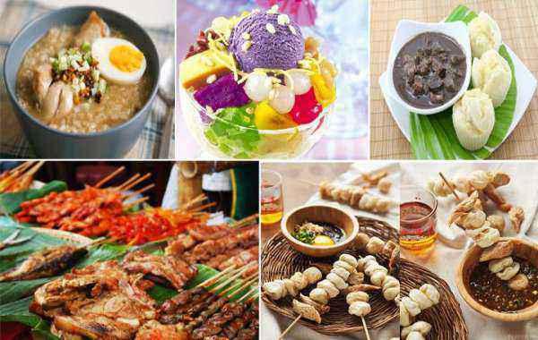 ẩm thực trên diện tích Philippines