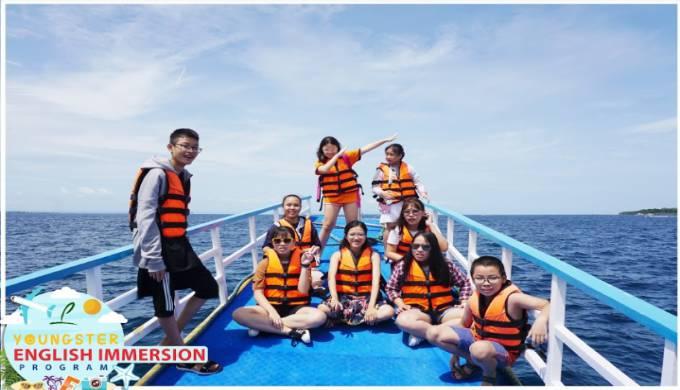 khóa summer camp tại Philippines trương Philinter
