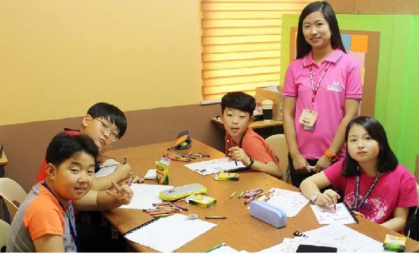 lớp học khóa summer camp tại Philippines