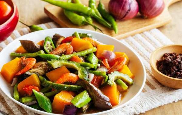 món ăn có lợi cho sức khở pinakbet đăc sản Philippines