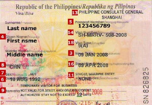 Visa-Philippines